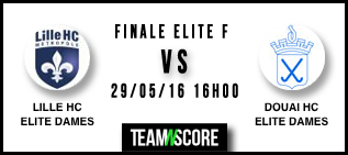 Finale du championnat de France hockey sur gazon Elite dames 2016