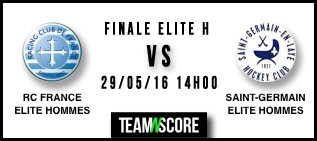 Finale du championnat de France hockey sur gazon Elite hommes 2016